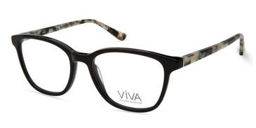 Shiny Black Viva VV4517 Eyeglasses.