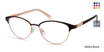 Matte Black Viva VV4519 Eyeglasses.