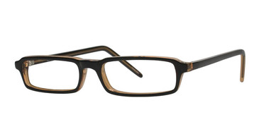Black/Brown Vivid Soho 92 Eyeglasses.