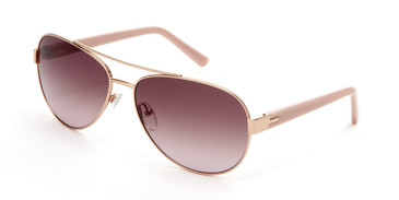 Rose Gold Ted Baker TBW124 Sunglasses.