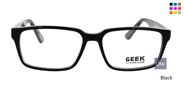 Black GEEK CEO Eyeglasses