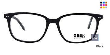 Black GEEK DEXTER Eyeglasses