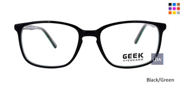Black/Green GEEK EXPLORER Eyeglasses