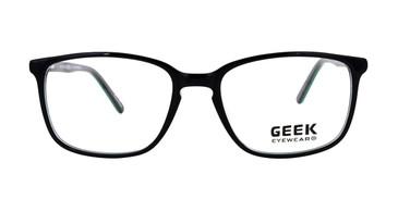 Black/Green GEEK EXPLORER Eyeglasses