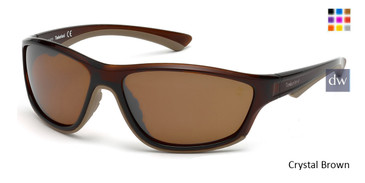 Crystal Brown Timberland TB9045 Sunglasses.