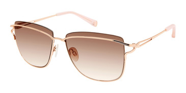 Rose Gold Kate Young For Tura K565 Sunglasses.