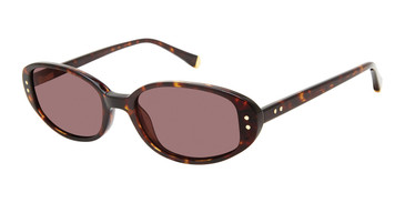 Tortoise Kate Young For Tura K564 Sunglasses.