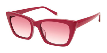 Red Kate Young For Tura K563 Sunglasses.
