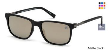 Matte Black Timberland TB9152 Sunglasses.