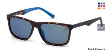 Dark Havana Timberland TB9174 Sunglasses.