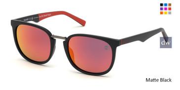 Matte Black Timberland TB9175 Sunglasses.