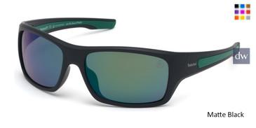 Matte Black Timberland TB9192 Sunglasses.