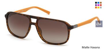 Matte Havana Timberland TB9200 Sunglasses.