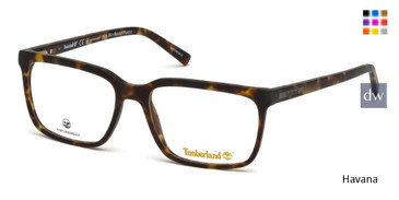 Havana Timberland TB1580 Eyeglasses.