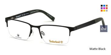 Matte Black Timberland TB1585 Eyeglasses.