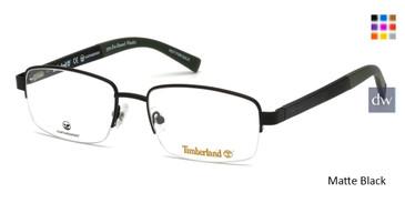 Matte Black Timberland TB1588 Eyeglasses.