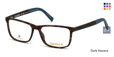 Dark Havana Timberland TB1589 Eyeglasses.