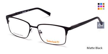 Matte Black Timberland TB1604 Eyeglasses.