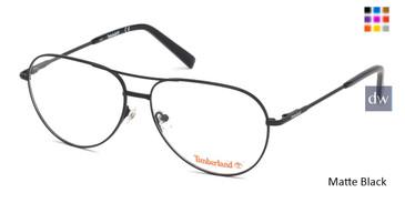 Matte Black Timberland TB1630 Eyeglasses.