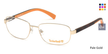 Pale Gold Timberland TB1637 Eyeglasses.