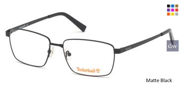 Matte Black Timberland TB1638 Eyeglasses.