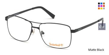 Matte Black Timberland TB1639 Eyeglasses.