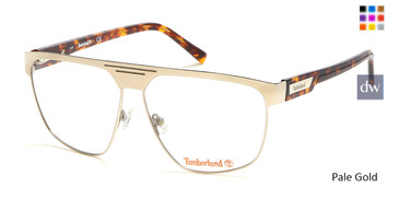Pale Gold Timberland TB1643 Eyeglasses.