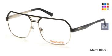 Matte Black Timberland TB1645 Eyeglasses.