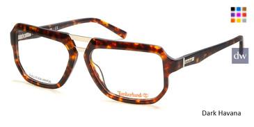 Dark Havana Timberland TB1646 Eyeglasses.