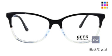 Black/Crystal GEEK GAMEON 2 Eyeglasses