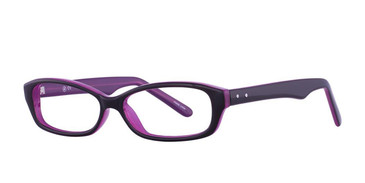 Black/Purple Vivid Soho 108 Eyeglasses.