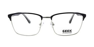Black/Silver GEEK JAZZ Eyeglasses