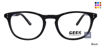 Black GEEK LESTER Eyeglasses - Teenager