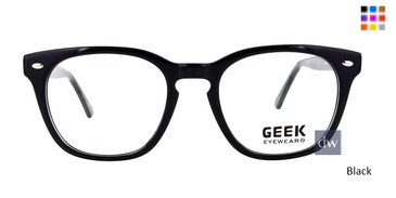 Black GEEK LOGIC Eyeglasses - Teenager