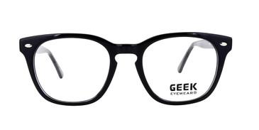 Black GEEK LOGIC Eyeglasses - Teenager