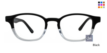 Black GEEK MYSTERY Eyeglasses - Teenager