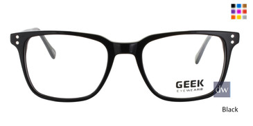 Black GEEK RANCHER Eyeglasses