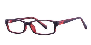 Black/Red Vivid Soho 112 Eyeglasses.