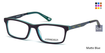 Matte Blue Skechers SE1150 Eyeglasses.