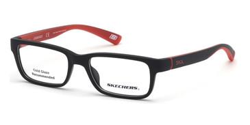 Matte Black Skechers SE1157 Eyeglasses.