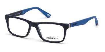 Matte Blue Skechers SE1158 Eyeglasses.