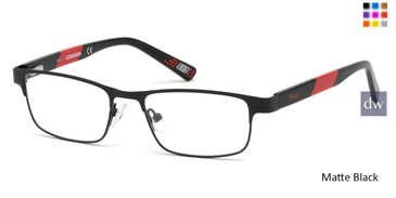 Matte Black Skechers SE1160 Eyeglasses - Teenager.