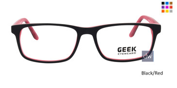Black/Red GEEK SQUARED Eyeglasses