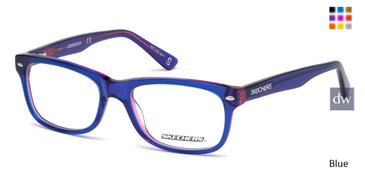 Blue Skechers SE1627 Eyeglasses - Teenager.