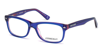 Blue Skechers SE1627 Eyeglasses - Teenager.