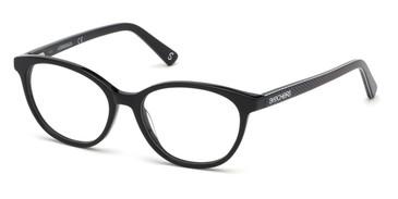 Shiny Black Skechers SE1640 Eyeglasses - Teenager.