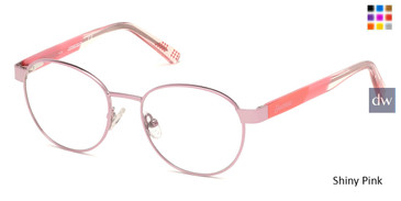 Shiny Pink Skechers SE1641 Eyeglasses.