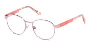 Shiny Pink Skechers SE1641 Eyeglasses.