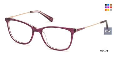 Violet Skechers SE2142 Eyeglasses.