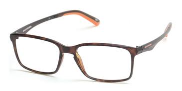 Dark Havana Skechers SE3153 Eyeglasses.